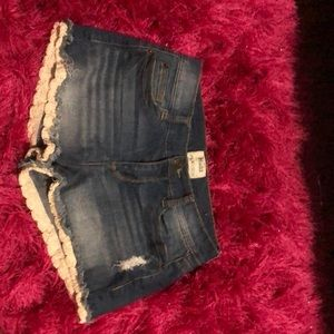 These are mudd Jean shorts for juniors/children.